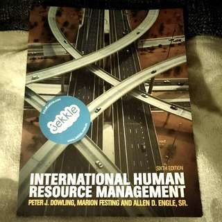International Human Resource management 6th Edition