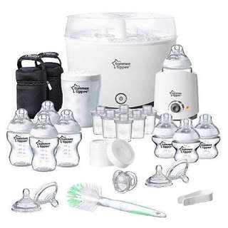Tommee Tippee Closer to Nature Essentials Kit, white set