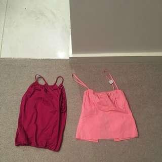 X5 Bulk XS-S Casual Women's Designer Singlets-buy$130RRP$640 NEW