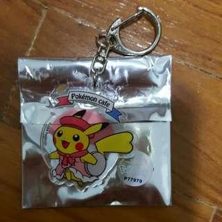 Pokemon Cafe SG Pikachu Keychain