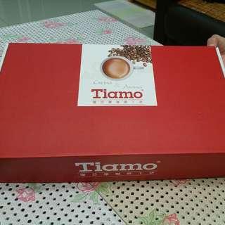(全新)Tiamo提亞摩咖啡工坊 經典五杯五盤咖啡杯組