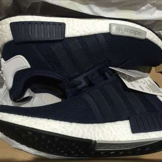 ADIDAS NMD R1 COLLEGIATE NAVY US 7.5