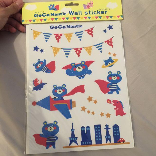 日本兒童房壁貼