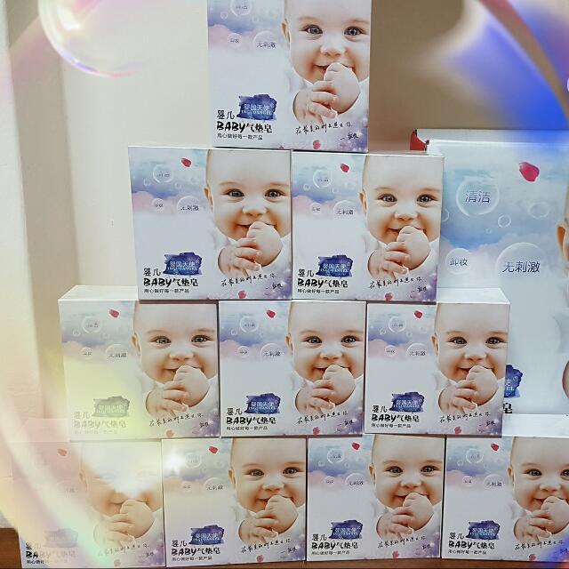 嬰兒氣墊皂