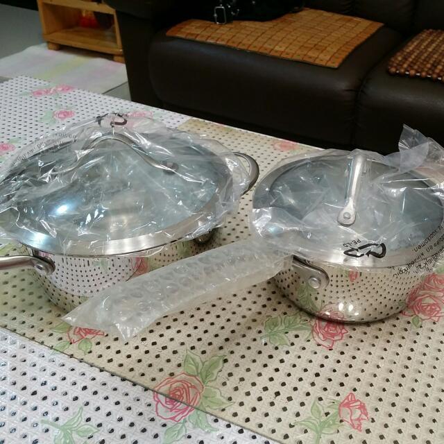 (全新)德國雙人國際二件鍋具組