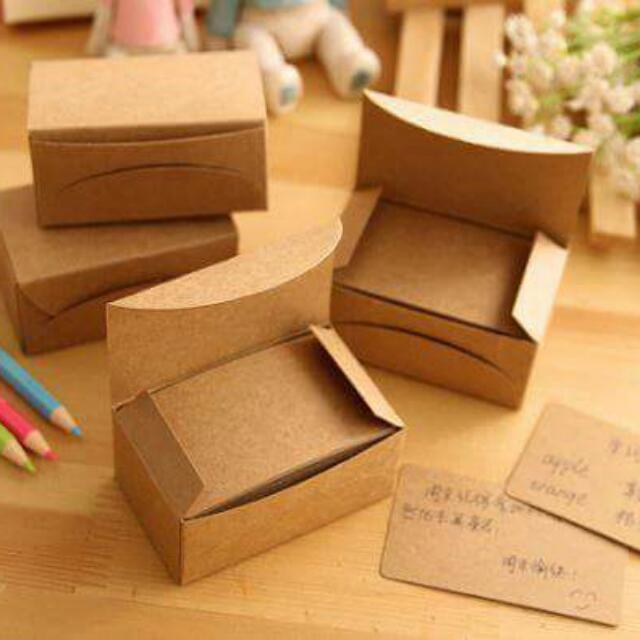 現貨✨超優價🎉 盒裝牛皮紙卡