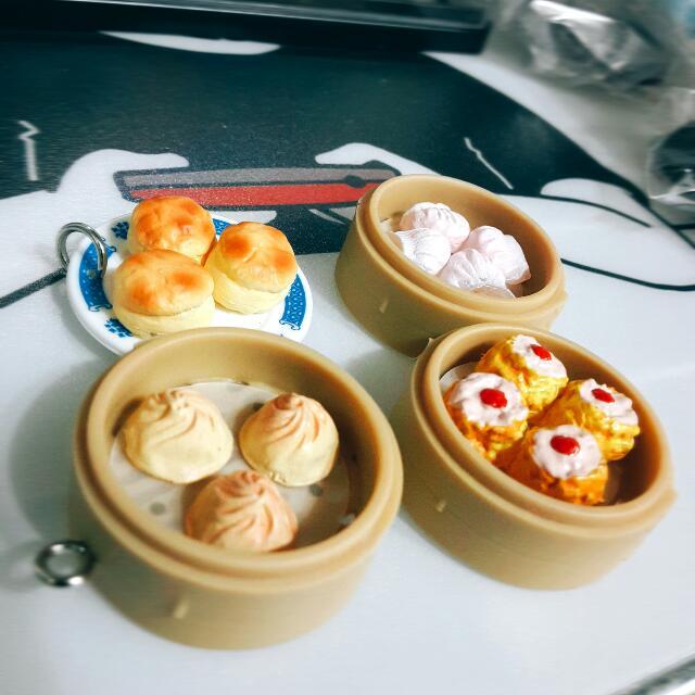 燒賣 中華料理 扭蛋 轉蛋 食玩 盒玩