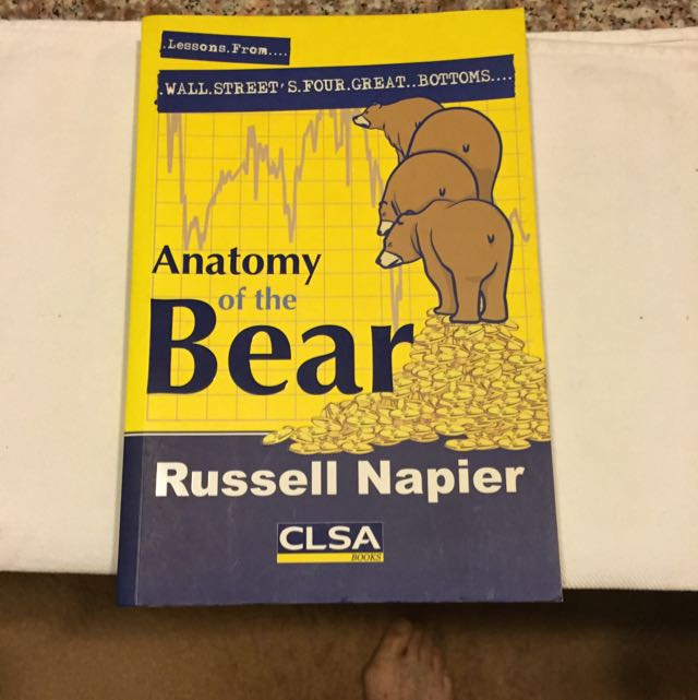 Anatomy Of The Bear by Russell Napier, Books & Stationery on Carousell