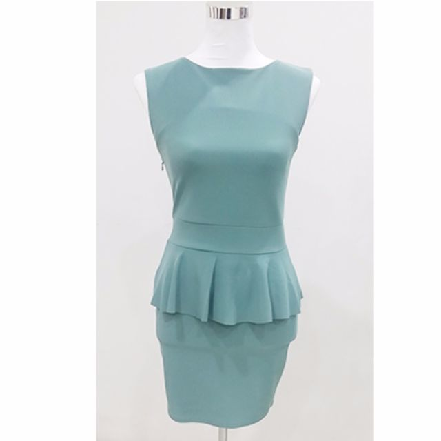 8678dbd74dd ASOS  Mint Green Straight Cut Formal Dress