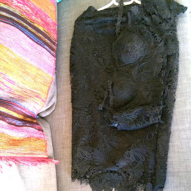 Black 2piece Dress