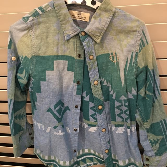 Boys Holiday Shirt