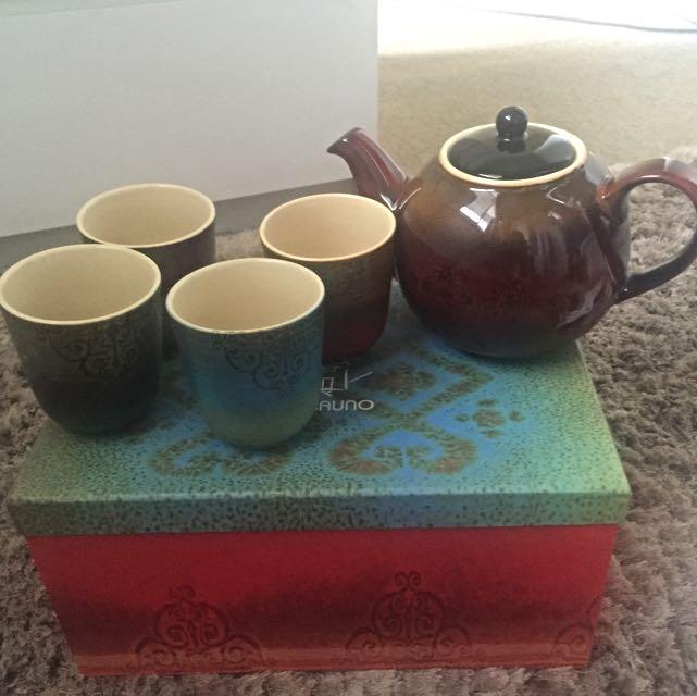 Casa Uno Marrakech Tea Pot Set