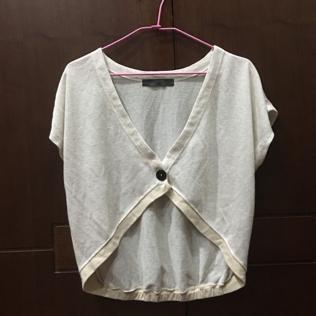 日本Ehyphenworld gallery 米色罩衫
