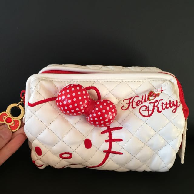 Hello Kitty Makeup Bag With Mirror