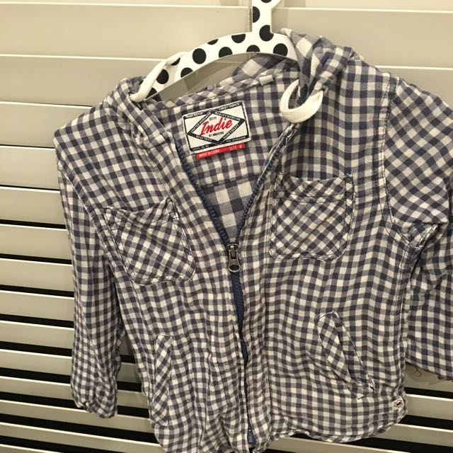 Industry Kids Boys Check Shirt