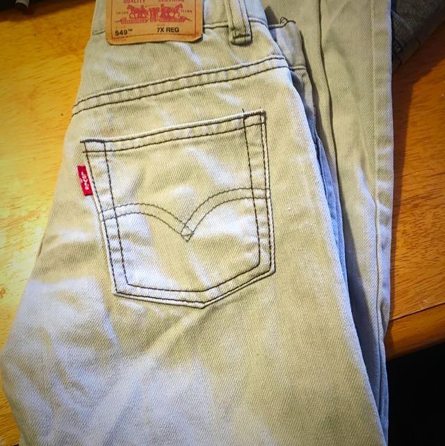 Levis Jeans Size 7