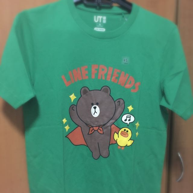 LINE and Friends T-shirt  (uniqlo)