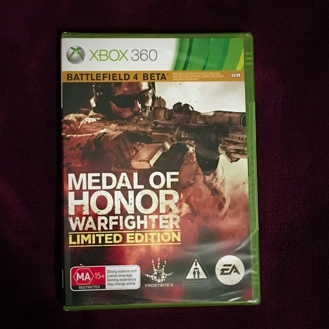 Medal Of Honor Warfighter Limited Edition (Xbox 360, PAL)