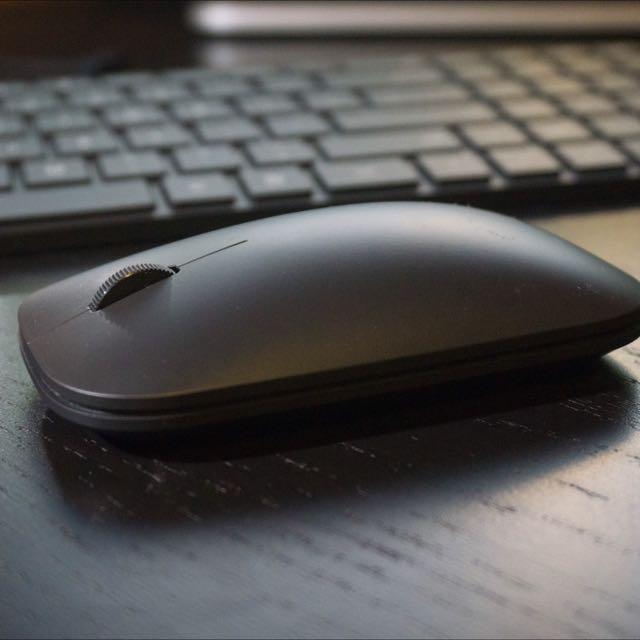 58fe031202f Microsoft Designer Bluetooth Mouse Sleek Black, Electronics on Carousell