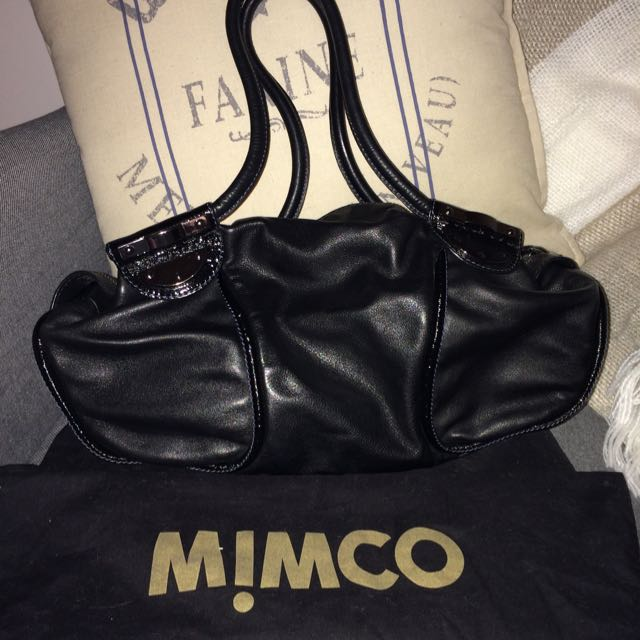 Mimco Leather Handbag