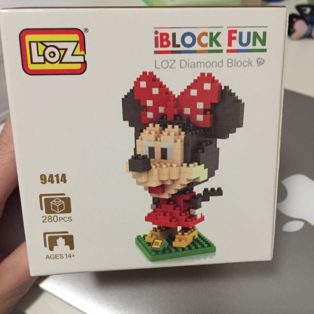 Minnie Mouse Loz Diamind Block