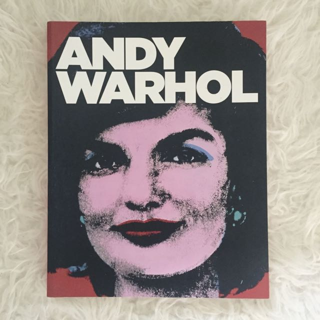 Official Andy Warhol Exhibition coffee table book
