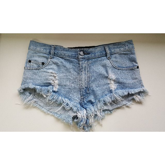 One Teaspoon Denim Blue Shorts