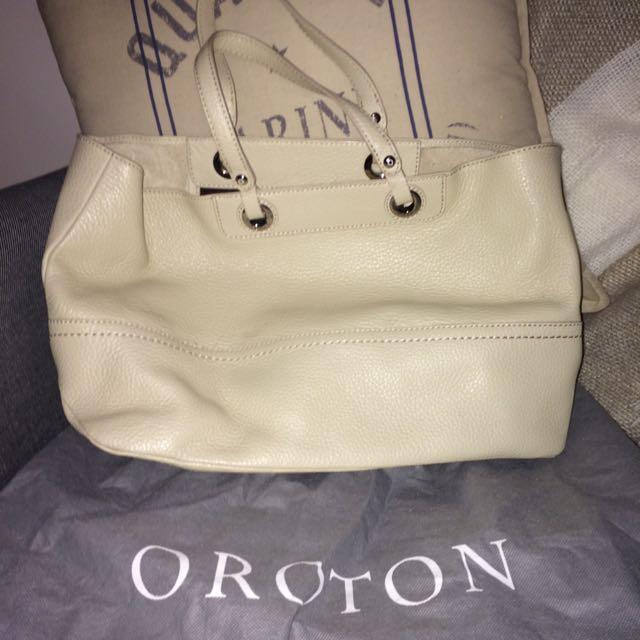 Oroton Leather Handbag