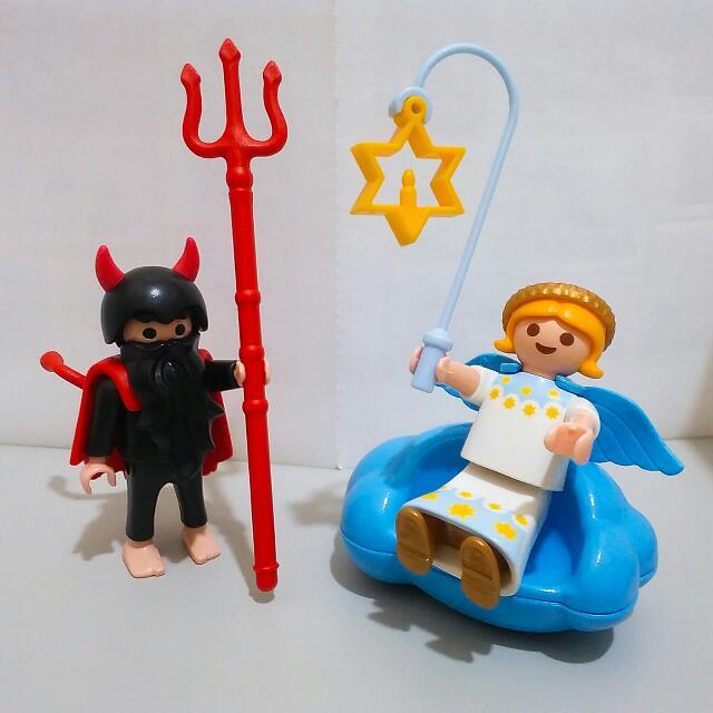 Playmobil 摩比人 一組