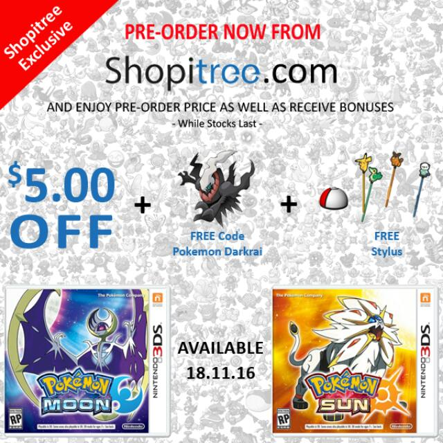 Pokemon X And Y Mystery Gift Codes Darkrai - Gift Ideas