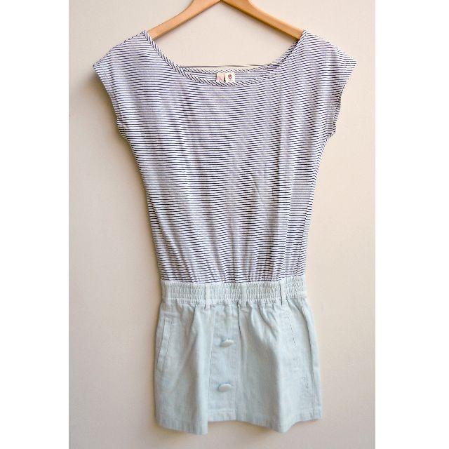 Roxy Stripes Denim Dress