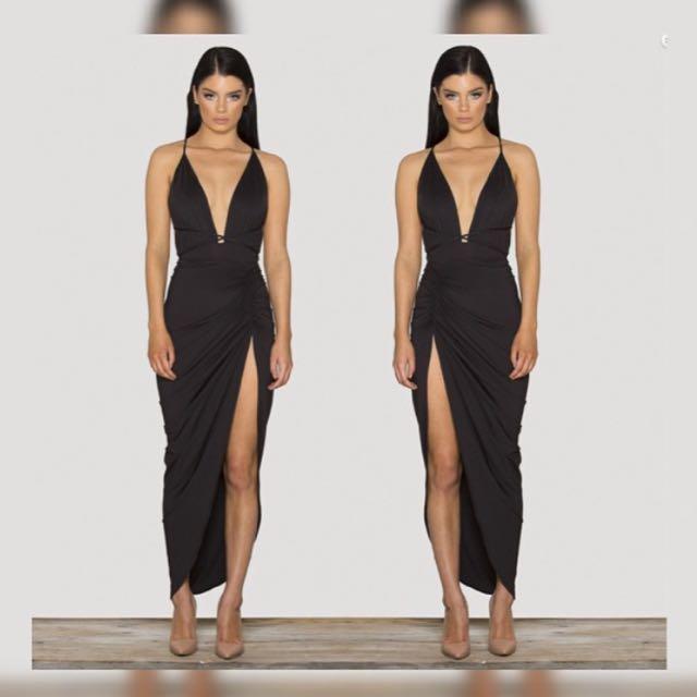 Sck The Label • Vixen Dress In Black