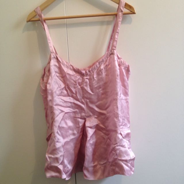 Silky Pink Top
