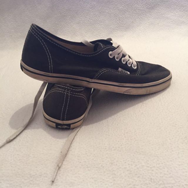Size 8 Black Vans