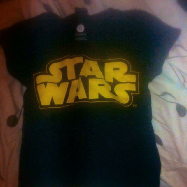 Star Wars Crop Shirt