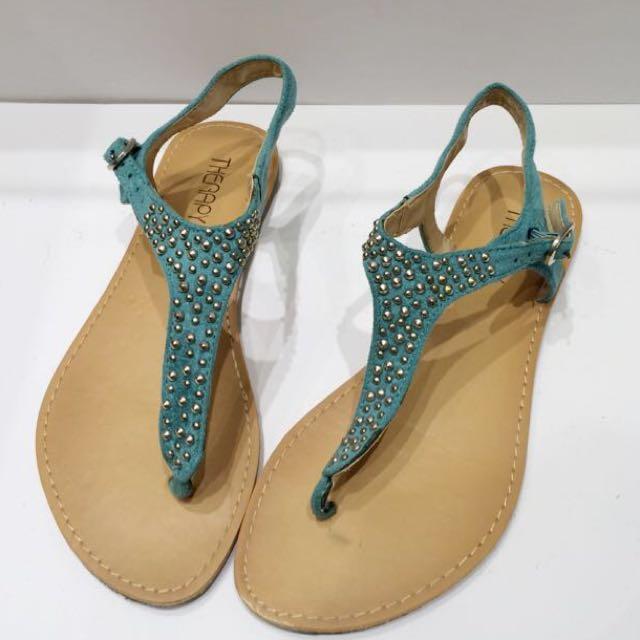 Therapy Aqua Blue Sandals