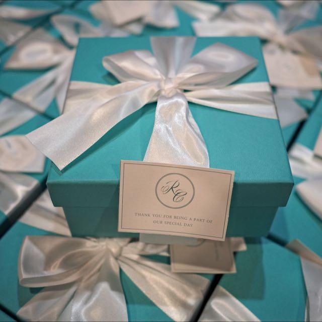 Tiffany Blue Box (w label)