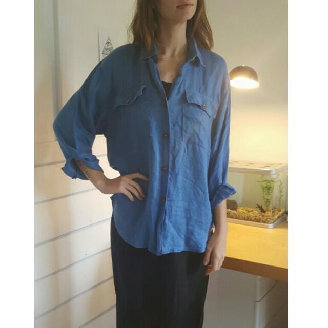 Vintage Blue Shirt