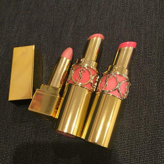 YSL lipsticks