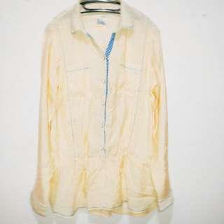 Lois Brand Blouse-kuning