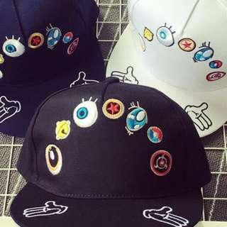 Po    PO    Korea ulzzang embroidery eye Harajuku Fun palm hip · Po     PO    Korea ulzzang embroidery eye Harajuku Fun palm hip hop cap baseball  hat with ... 4df816c4b073