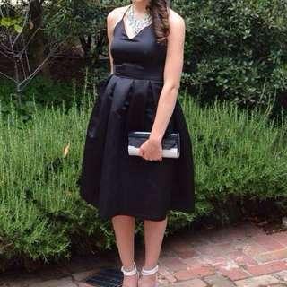 Mossman Silk & Scotch Dress- Size 6