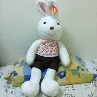 大白兔玩偶
