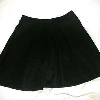 Black Skater Skirt Size Small