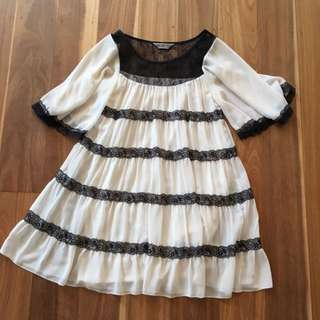 Lipsy London Babydoll Dress Size Small