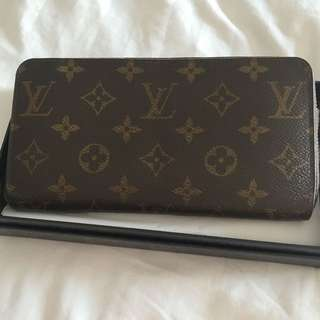 Preloved Authentic LV Monogram wallet