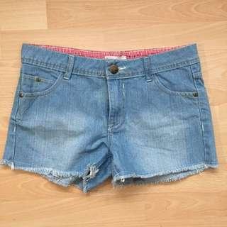 Denim Shorts For Girls (size S)