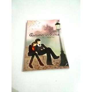 """Buku Novel """"Autumn In Paris"""" By Ilana Tan"""