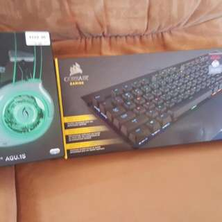 Corsair K70 Rgb Latest Model And Afterflow Wireless Headset