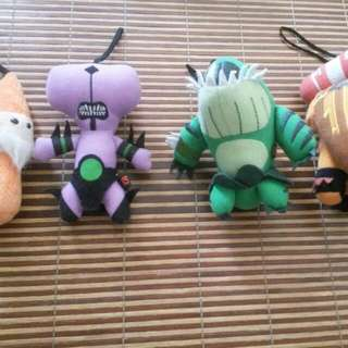 (REDUCED) Combo Set Of Dota Soft Toys